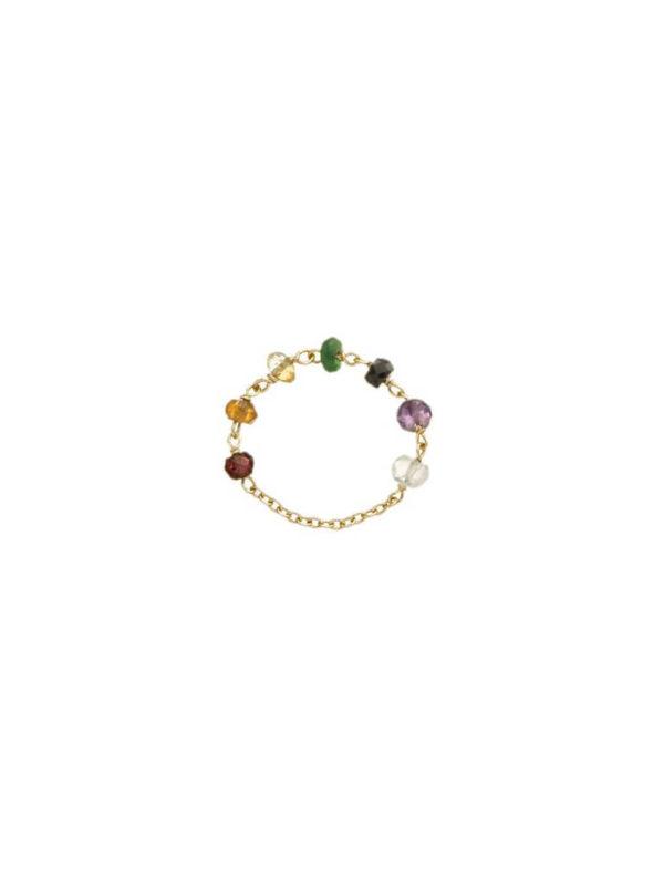 7 Chakra Ring with rosary - Nianì