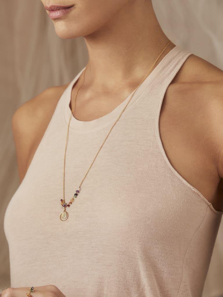 7 Chakra Long Necklace