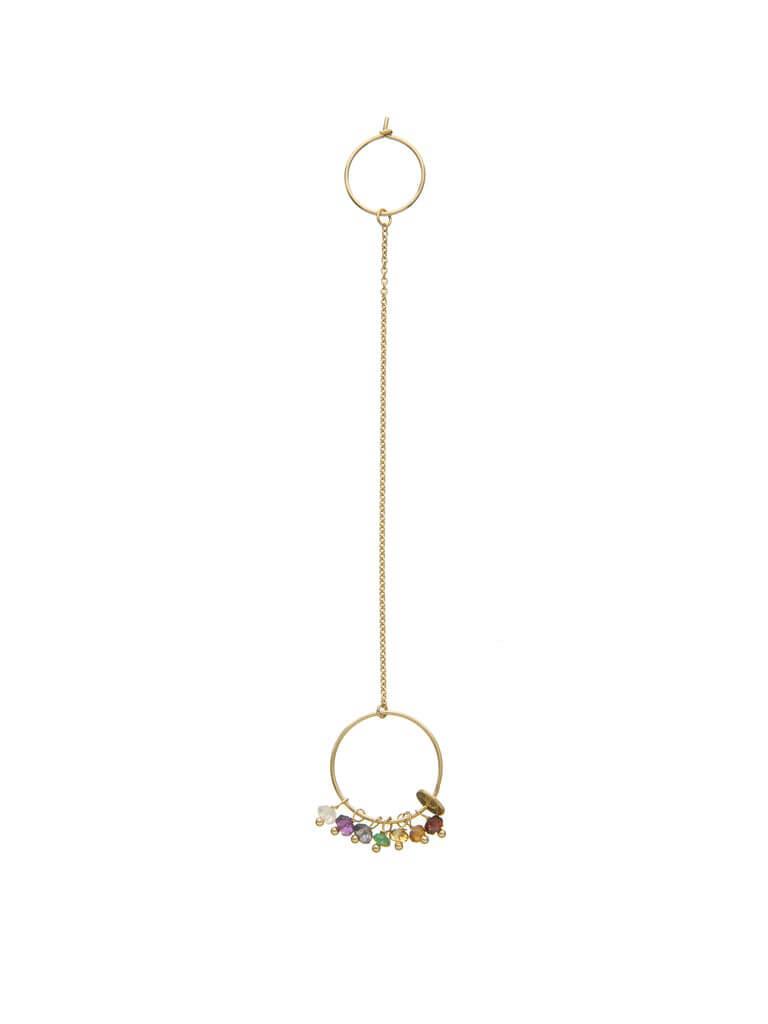 7 Chakra Mono earring