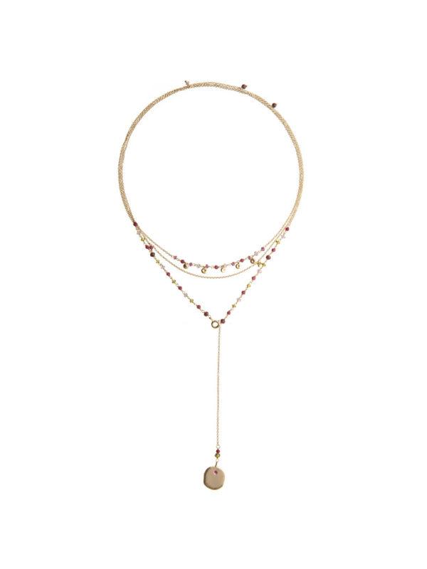 Ana red necklace - Nianì
