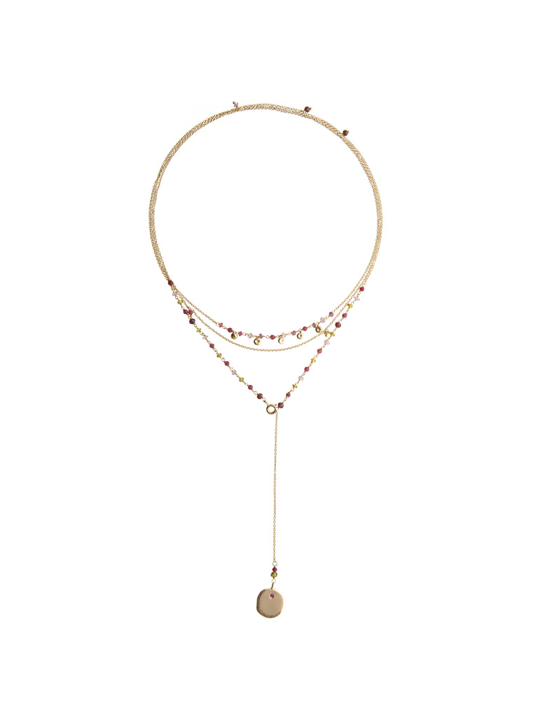 Ana red necklace